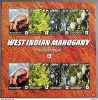# St. Kitts 2016**Mi.1541-44  West Indian Mahogany , MNH [1;6] - W.W.F.