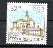 Europa CEPT 2017 Ceska Czech Republic Castle MNH - 2017