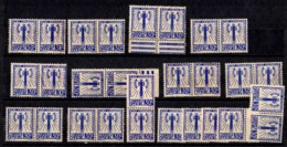 France Service Francisque YT N° 2 X 28 Timbres Neufs (*). B/TB. A Saisir! - Dienstpost
