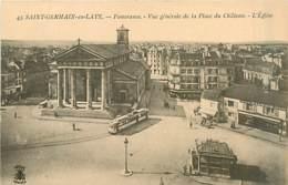 78* ST GERMAIN EN LAYE  Place Du Chateau         MA96,0870 - St. Germain En Laye
