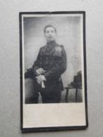 Jan-Frans Bogemans Wemmel 1893 Elewijt Augustus 1914 / WW1 Soldaat Bij Het 2e Karabiniersregiment - Esquela