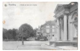 Bruxelles L'entrée Du Bois De La Cambre Tram Tramway 1907 - Avenues, Boulevards