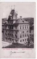 SUISSE(CHAUX DE FONDS) CARTE GAUFREE - NE Neuchâtel
