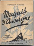 Maquis D'Auvergne - Oorlog 1939-45