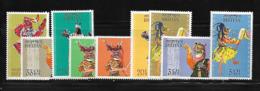 Bhoutan 1964 Yvert 19/27 Neufs** MNH (AA48) - Bhutan