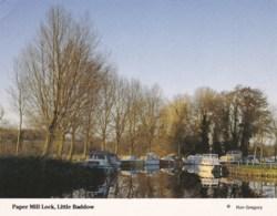 AM56 Paper Mill Lock, Little Baddow - England