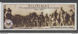 PHILIPPINES , 2017, MNH, WWII, BATAAN DEATH MARCH, POWS, 1v - WW2 (II Guerra Mundial)