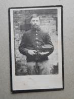 Isidoor Meyskens Wemmel 1889 Perrijse Januari 1916 / WW1 Soldaat Bij Het 11e Linieregiment - Esquela
