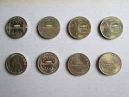 Lot De 8 Médailles Jetons  Monnaie De Paris (voir Scans Recto Verso) Diametre 34 Mm - Non Classés