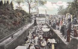 AP03 Boulters Lock - 1906 Postcard, Large Crowds - Altri