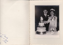 AP03 Wedding Photograph - Eileen And David, Feb 1950, Harringay Photographer - Identified Persons