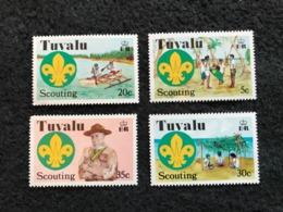 Tuvalu Scouts Set Mint - Tuvalu