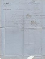 Herault - Marseillan - A.Rey - Vins Et Spiritueux 1872 - 1800 – 1899