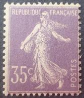 R1189/164 - 1906 - TYPE SEMEUSE - N°136 NEUF** - Cote : 425,00 € - Nuovi