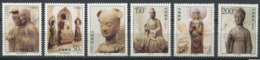 254 CHINE 1997 - Yvert 3482/87 - Grotte De Maiji Sculpture - Neuf ** (MNH) Sans Trace De Charniere - Nuovi