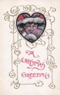 AR73 Greetings - A Christmas Greeting - Woman In Furs - Christmas