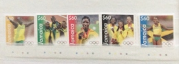 Jamaica 2013 Olympic Winners Set MNH - Jamaica (1962-...)
