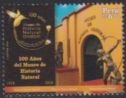 PERU, 2018, MNH, MUSEUMS, NATURAL HISTROY MUSEUM, BIRDS,1v - Museums