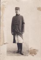 Photographie Carte Photo Militaire François Carriere En 1916 Patte De Col 94 ( Ref 315) - Krieg, Militär