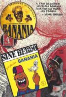 CPM Timbre Monnaie Siné Par Jihel Tirage Limité En 30 Exemplaires Numérotés Signés Banania Négritude Petit Noir - Monnaies (représentations)