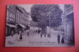 CPA 43 HAUTE LOIRE LE PUY EN VELAY. Avenue De La Gare. - Le Puy En Velay
