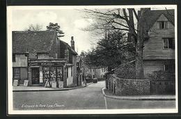 Pc Cheam, Entrance To Park Lane - London