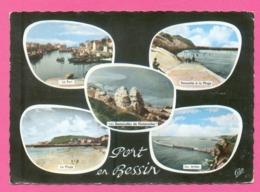 CPSM FRANCE 14  ~  PORT-EN-BESSIN  ~  1581  Divers Aspects  ( C.A.P. Dentelée 1962 ) - Port-en-Bessin-Huppain