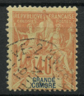Grande Comore (1897) N 10 (o) - Usati