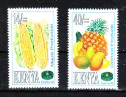 Kenya  -  1995. Mais E Frutta. Mais And Orchars Products. MNH - Frutta