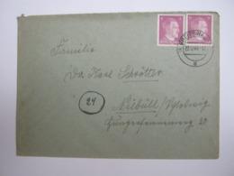 1944   , PLZ  Landpoststempel , ( 4) GREIFSWALD, Brief - Briefe U. Dokumente