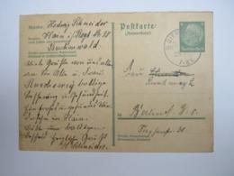 1934, GIERSDORF , Klarer Stempel ( KOS ) Auf Beleg - Briefe U. Dokumente