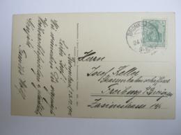 1911 , BRONNBACH , Klarer Stempel ( KOS ) Auf Beleg - Briefe U. Dokumente