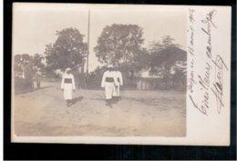CAMBODGE Tirailleurs Cambodgiens 1904 PHOTO Postcard - Cambodge