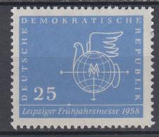 DDR 619 F26 Bildecke Abgeflacht  Postfrisch ** (6096C) - Plattenfehler