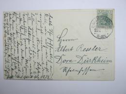 1913,  BREIDENBACH , Klarer Stempel ( KOS ) Auf Beleg - Briefe U. Dokumente