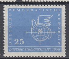 DDR 619 F26 Bildecke Abgeflacht  Postfrisch ** (6097A) - Plattenfehler