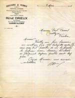 76.CAUDEBEC LES ELBEUF.COULEUR & VERNIS.RENE DRIEUX 153 & 155 RUE DE LA REPUBLIQUE. - France
