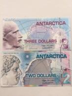 ANTARTICA P5-9  3-2 DOLLARS 2007 UNC - Andere