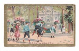 Chromo H, Saut De Mouton, Enfants, Saute-mouton - Cromos