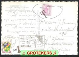 Zichtkaart DOUAUMONT (F) 1959 Getaxeerd In België - Covers