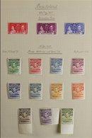 BRITISH AFRICA 1937-1952 KGVI SUPERB MINT COLLECTION On Leaves, Includes BASUTOLAND 1938 Set, 1948 Wedding Set, BECHUANA - Postzegels