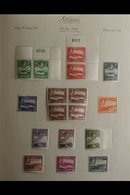 BRITISH WEST INDIES 1936-1952 KGVI SUPERB MINT COLLECTION In An Album, Includes ANTIGUA 1938-51 Set, 1949 Wedding Set, B - Postzegels