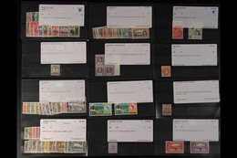 BRITISH WEST AFRICA ACCUMULATION ON STOCKCARDS - EX DEALER 19th Century To Early QEII Powerful Array Featuring Many Bett - Stamps