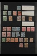 JAMAICA & OTHER C/WEALTH. A Chiefly Very Fine Mint & Used Collection / Accumulation Of Stamps Mostly From Jamaica With S - Sellos