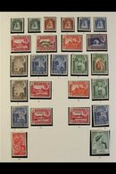 KATHIRI STATE OF SEIYUN 1942-67 Very Fine Mint Collection On Album Pages, Includes 1942 Complete Set Of 11, 1949 Silver  - Aden (1854-1963)