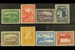 TASMANIA 1899-1900 Pictorials Complete Set, SG 229/36, Very Fine Mint, Very Fresh. (8 Stamps) For More Images, Please Vi - Unclassified