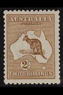 1915 2s Brown, Wmk Narrow Crown, Kangaroo, SG 41, Very Fine Mint. For More Images, Please Visit Http://www.sandafayre.co - Unclassified