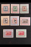 BELGIAN CONGO 1949 U.P.U., Set Of Eight Miniature Sheets, COB BL 3A/10A, Fine Never Hinged Mint, Very Scarce. (8 Sheets) - Belgium