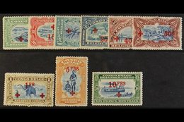 CONGO 1918 Red Cross Fund Set, COB 72/80, Fine Mint. (9 Stamps) For More Images, Please Visit Http://www.sandafayre.com/ - Belgium