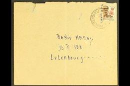 CONGO 1967 (6 Jun) Turned And Reused Env Without Backflap, Sent From Mwene-Ditu To Radio Kasai At Luluabourg Bearing A B - Belgium